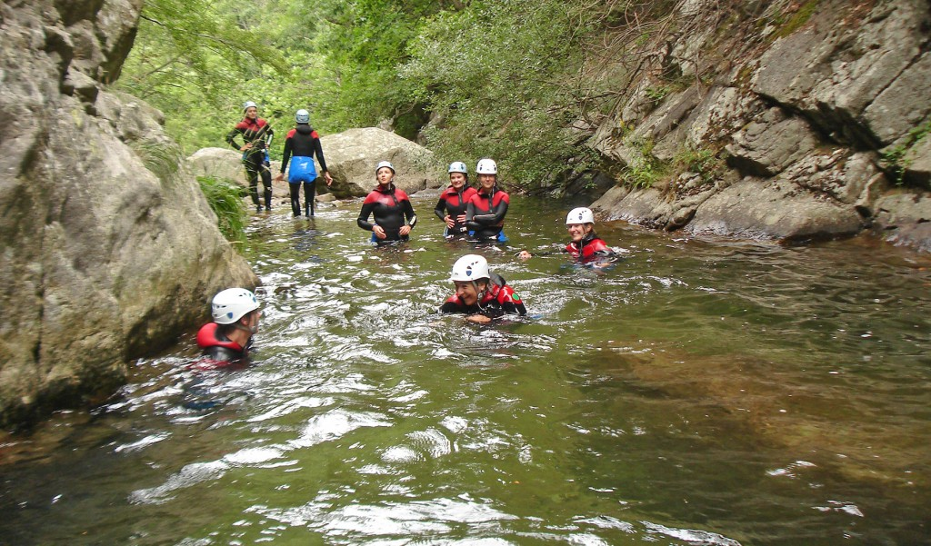 Discovery canyoning | Canyoning for beginners in the Ardèche
