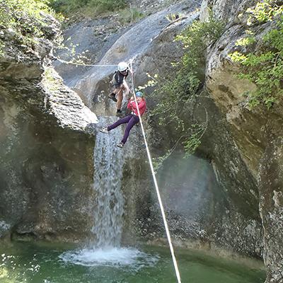 Tyrolienne pour toute la famille en Ardèche