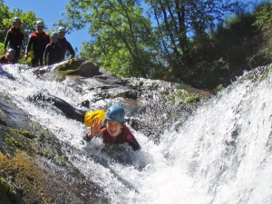 Aéro canyoning