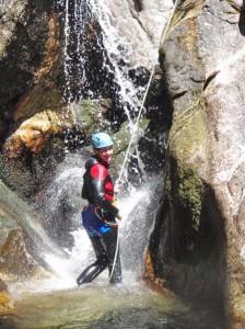 rappel canyon aventure