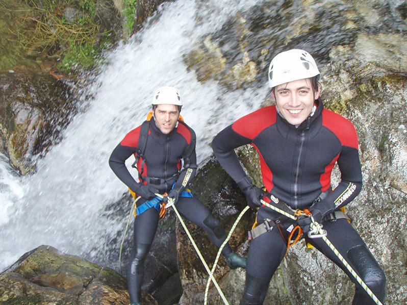 Canyon aventure, canyoning en Ardèche, activité de loisirs en Ardèche : Canyon Besorgues