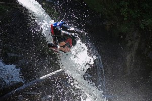 Aéro canyoning ultra