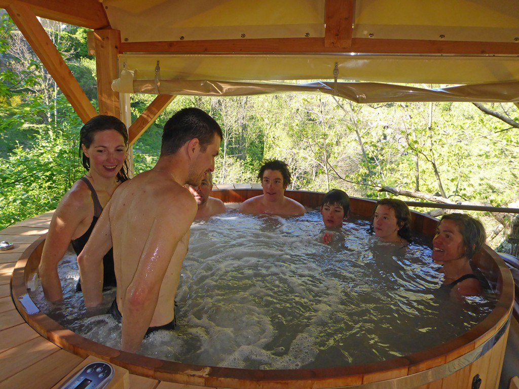 Cocoon canyon, Ardèche HOT TUB: Canyon de la Besorgues