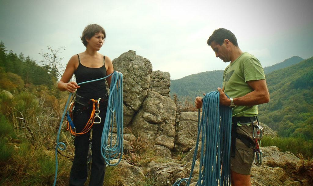 Klimmen over het Bergpad | Ardèche