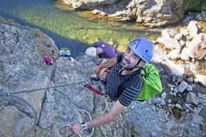 Voie de la Montagne Rock Climbing