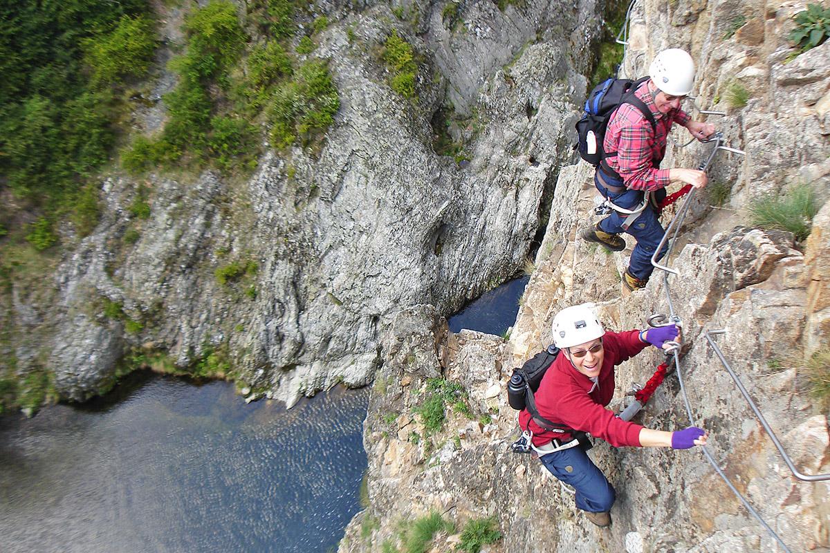 Klettergurt Via Ferrata : Via ferrata und schlingen ibex sport gmbh